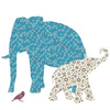 Fabric Elephant Image
